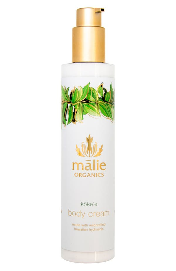 Alternate Image 1 Selected - Malie Organics Koke'e Organic Body Cream