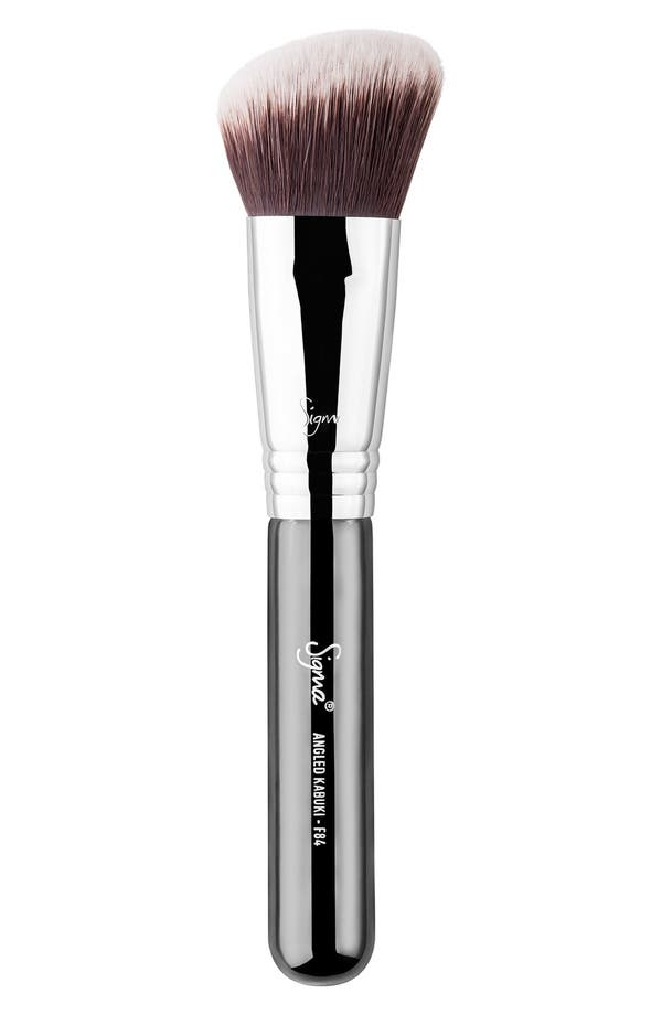 F84 Angled Kabuki<sup>™</sup> Brush,                         Main,                         color, No Color