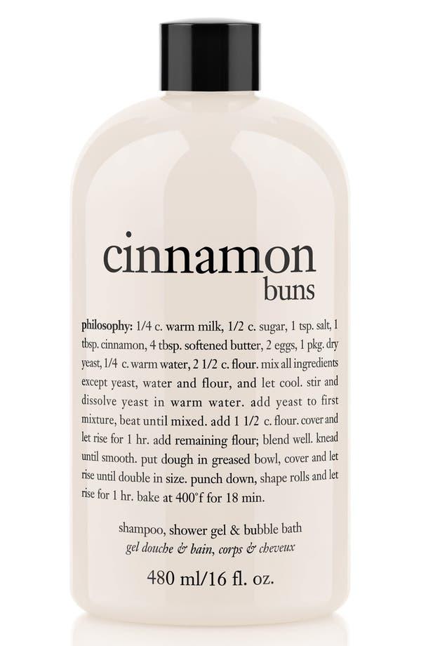'cinnamon buns' shampoo, shower gel & bubble bath,                         Main,                         color, No Color