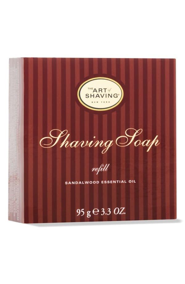 Sandalwood Shaving Soap Refill,                             Main thumbnail 1, color,                             No Color
