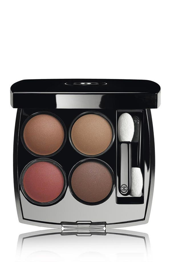 LES 4 OMBRES<br />Multi-Effect Quadra Eyeshadow,                         Main,                         color, 268 Candeur Et Experience