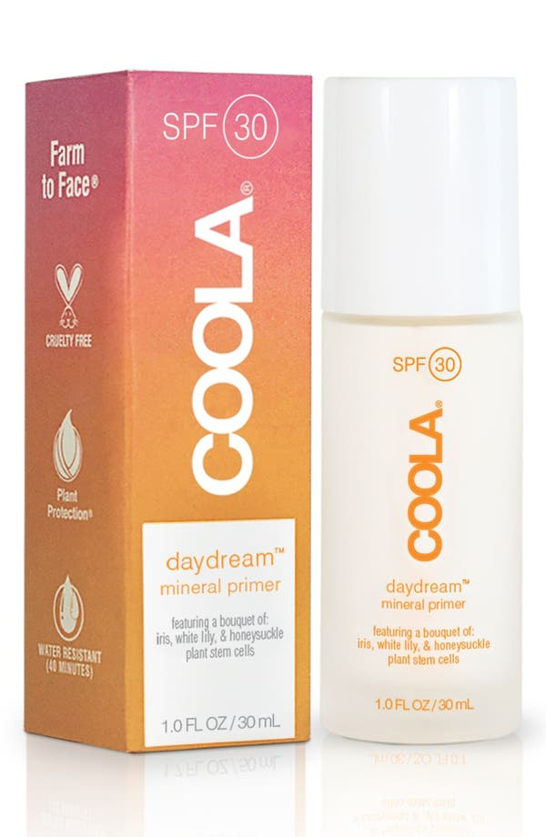 COOLA<sup>®</sup> Suncare Daydream SPF 30 Mineral Primer,                             Main thumbnail 1, color,                             No Color