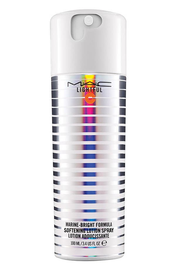 Alternate Image 1 Selected - MAC Lightful C Marine-Bright Formula Softening Lotion Spray