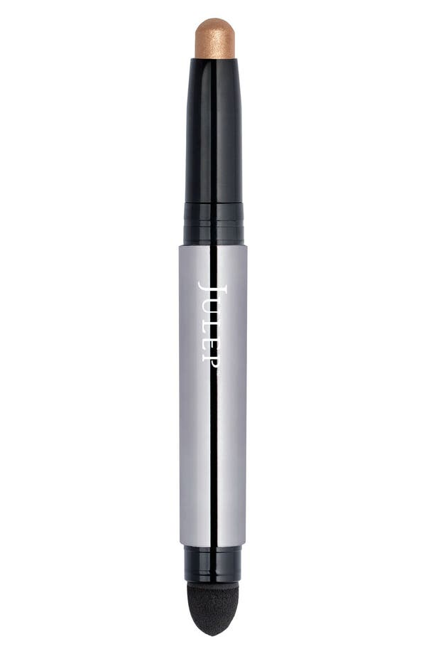 Julep<sup>™</sup> Eyeshadow 101 Eyeshadow Stick,                             Main thumbnail 1, color,                             Warm Gold Shimmer
