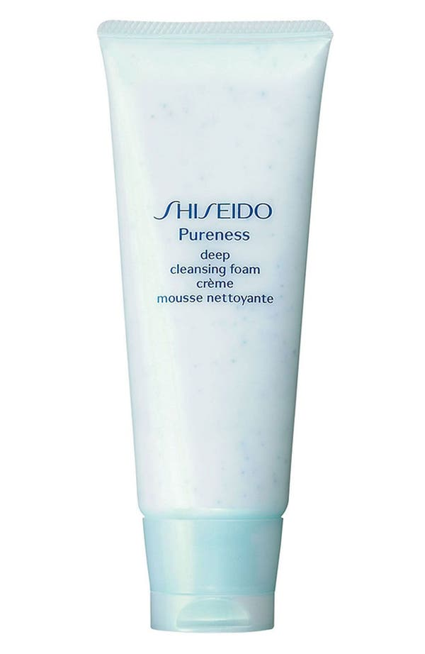 Alternate Image 1 Selected - Shiseido 'Pureness' Deep Cleansing Foam