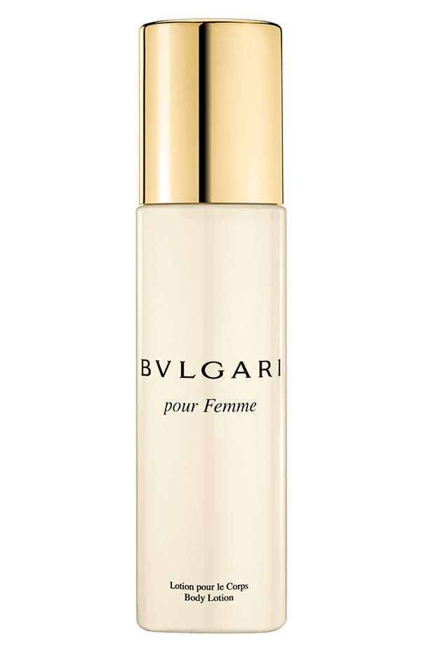 Alternate Image 1 Selected - BVLGARI pour Femme Body Lotion