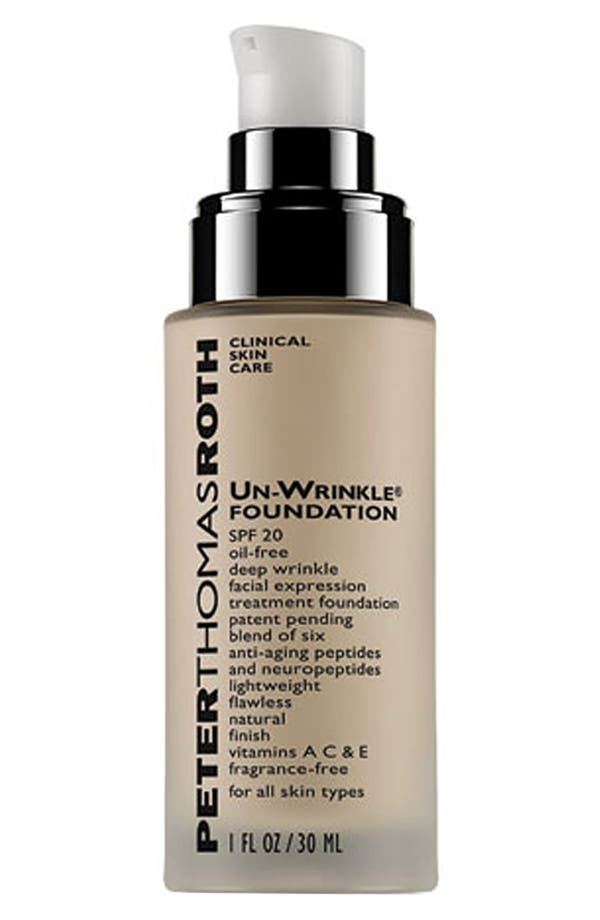 Alternate Image 1 Selected - Peter Thomas Roth 'Un-Wrinkle®' Foundation SPF 20