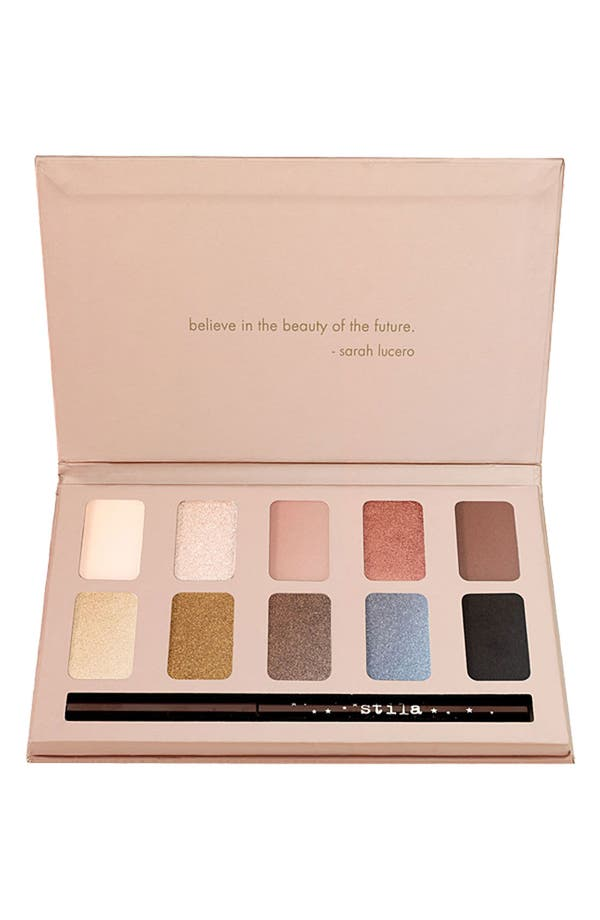 Alternate Image 1 Selected - stila 'in the light' natural eyeshadow palette ($118 value)
