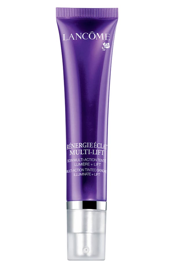 Alternate Image 1 Selected - Lancôme 'Rénergie Éclat Multi-Lift' Multi-Action Tinted Skincare