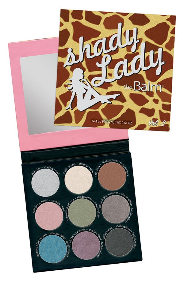 Main Image - theBalm® 'shadyLady®' Eye Color Palette #3