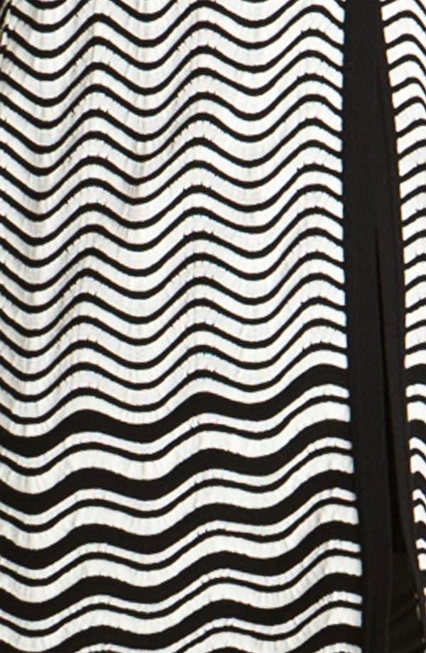 Alternate Image 3  - M Missoni Pointelle Wave Stripe Cardigan