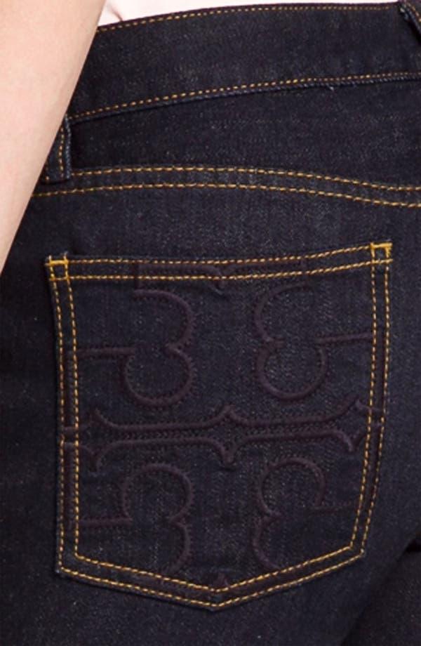 Alternate Image 3  - Tory Burch Super Skinny Stretch Jeans
