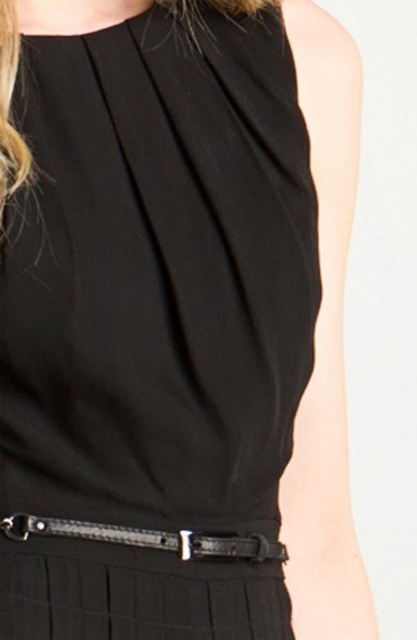 Alternate Image 3  - L'AGENCE Belted Crepe Dress
