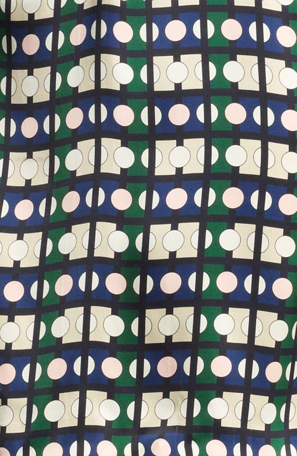 Alternate Image 3  - Piazza Sempione Geometric Print Silk Dress