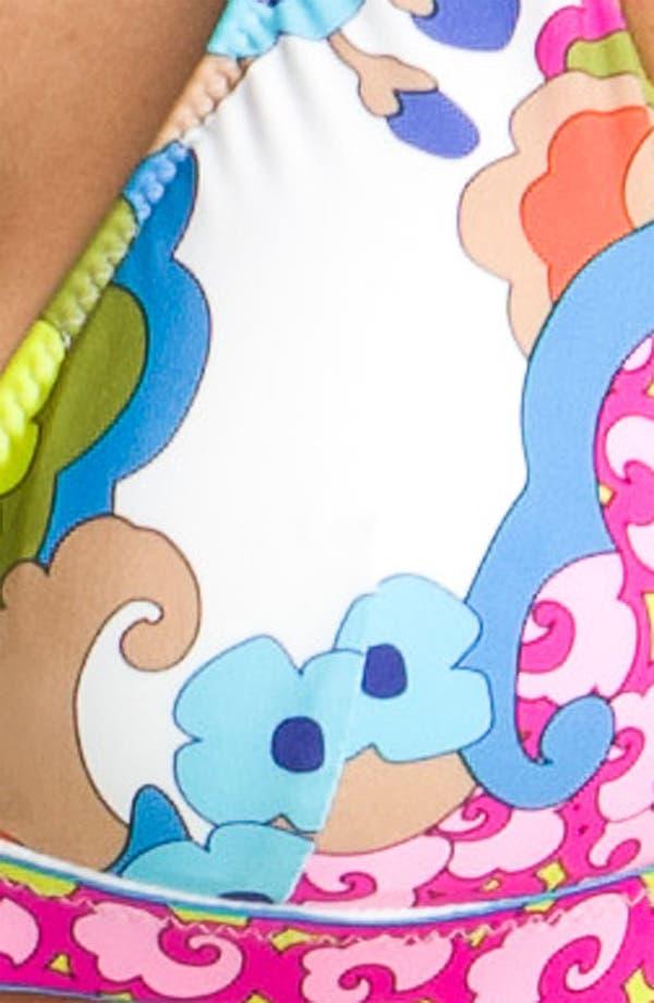 Alternate Image 3  - Trina Turk 'Cherry Blossoms' Halter Bikini Top