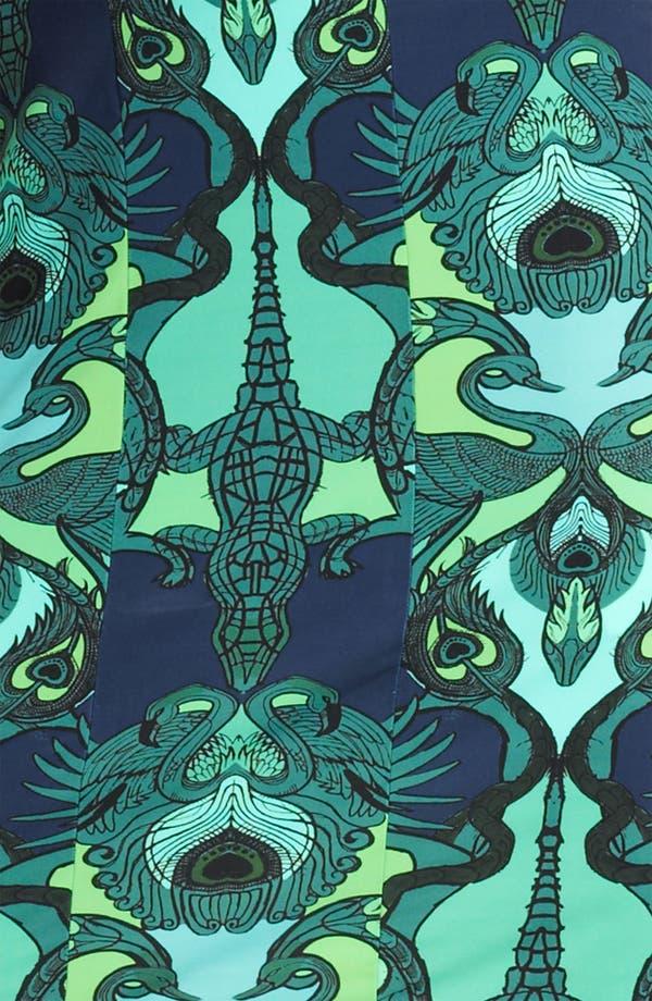 Alternate Image 3  - Roberto Cavalli Alligator Print Jersey Dress