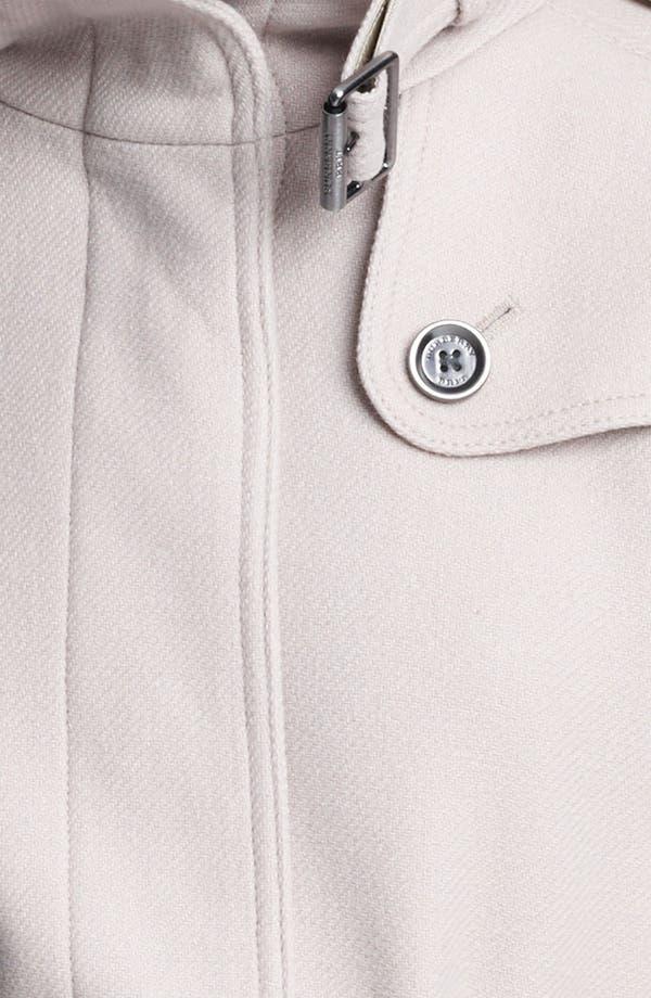Alternate Image 3  - Burberry Brit 'Rushworth' Belted Wool Blend Coat