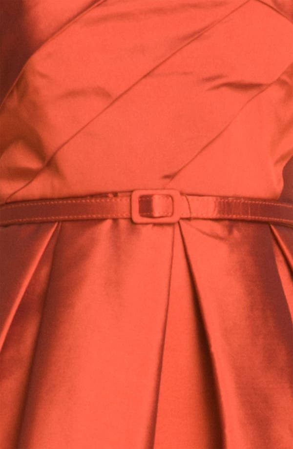 Alternate Image 3  - Eliza J Strapless Tulip Skirt Taffeta Dress