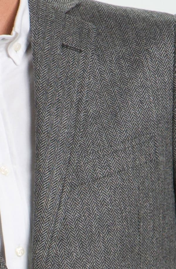 Alternate Image 3  - Brooks Brothers Herringbone Sportcoat