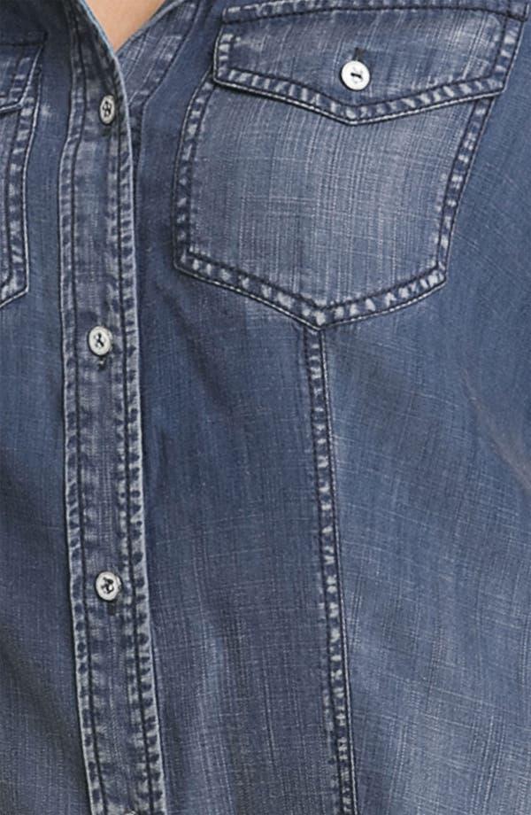 Alternate Image 3  - Trouvé Faded Denim Shirt