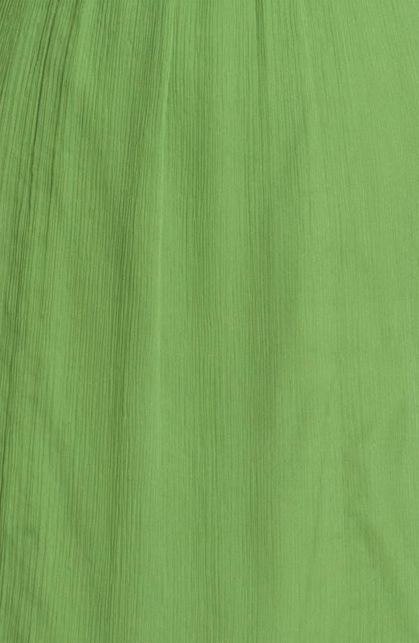 Alternate Image 3  - Amsale Ruffle Sleeve Empire Waist Silk Chiffon Dress