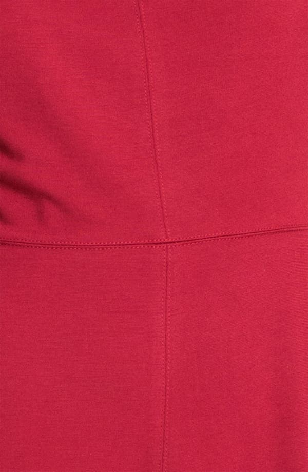 Alternate Image 3  - Donna Morgan 'Mod' Exposed Zipper Fit & Flare Dress