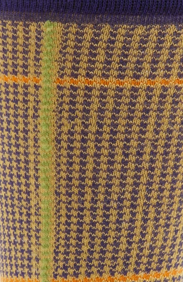 Alternate Image 2  - Etro Houndstooth Cotton Blend Socks