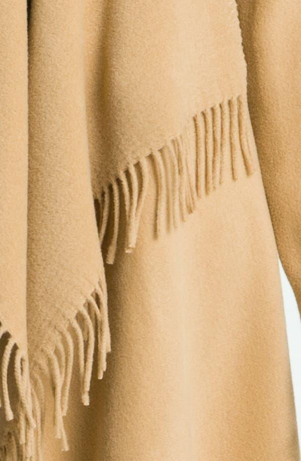 Alternate Image 3  - MICHAEL Michael Kors Fringed Wool Blend Coat