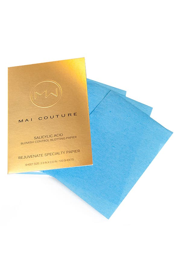 Alternate Image 1 Selected - Mai Couture Salicylic & Blemish Control Blotting Papier