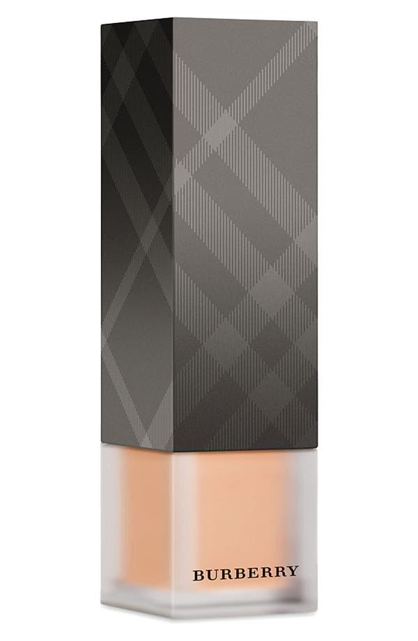Alternate Image 1 Selected - Burberry Beauty 'Velvet Foundation' Long Wear Fluid Foundation