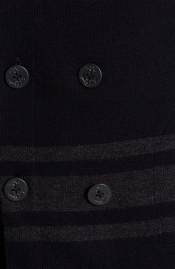 Alternate Image 3  - Vince Wool Knit Peacoat