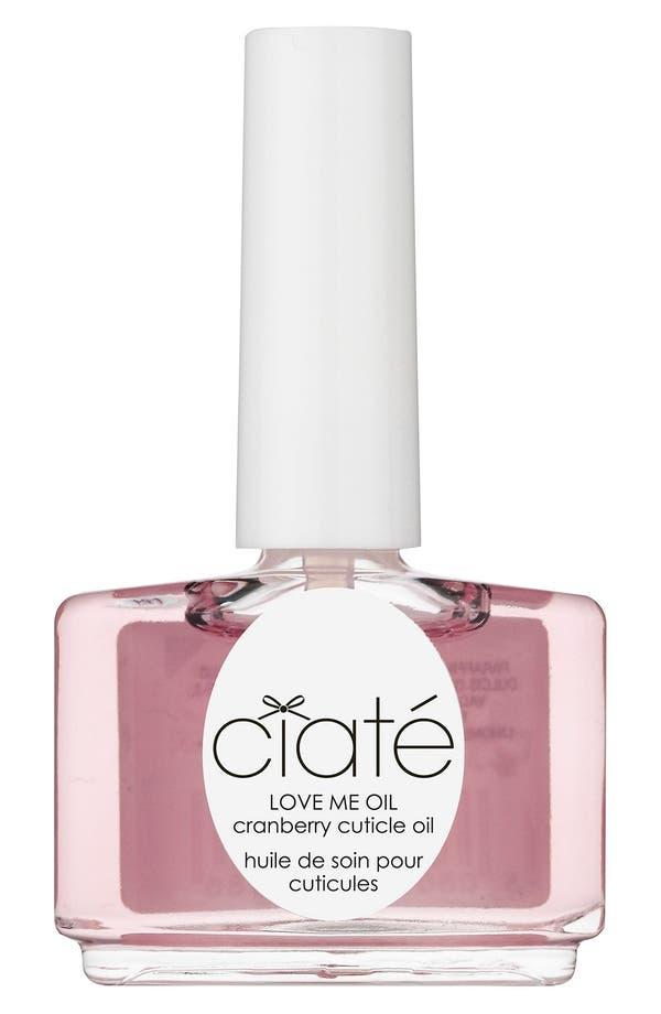 Alternate Image 1 Selected - Ciaté 'Love Me - Cranberry' Cuticle Oil