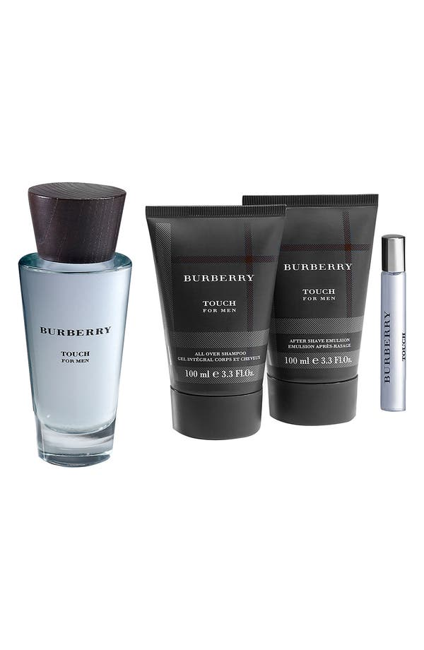 Alternate Image 1 Selected - Burberry Brit Touch for Men Fragrance Set ($129 Value)