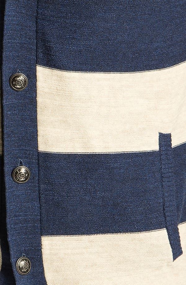 Alternate Image 3  - R44 Rogan Standard Issue Stripe Cardigan