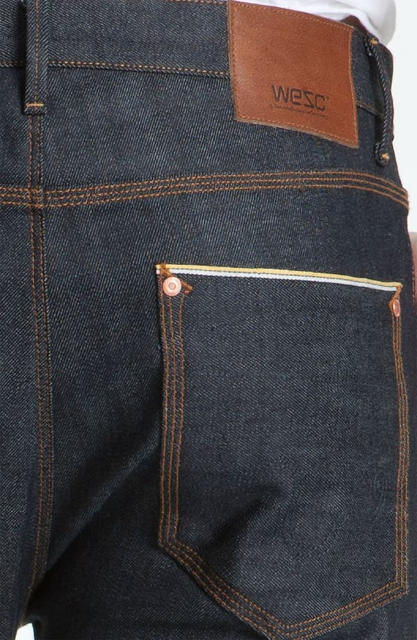 Alternate Image 3  - WeSC 'Eddy' Slim Fit Jeans (Raw Stretch Selvage)