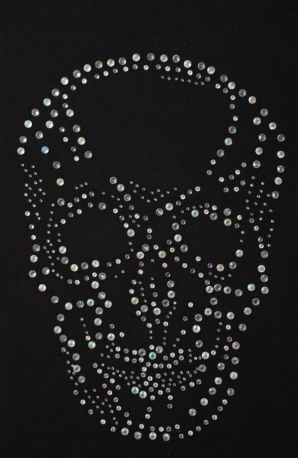 Alternate Image 3  - Topshop 'Crystal Skull' Tunic Tee