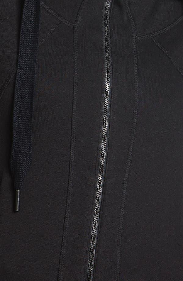 Alternate Image 3  - adidas by Stella McCartney 'Studio' Short Sleeve Hoodie
