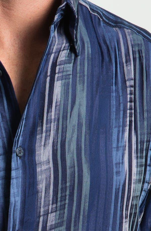Alternate Image 3  - Jhane Barnes Collection 'Striate' Cotton & Silk Sport Shirt