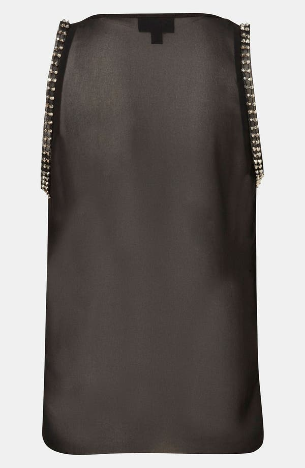 Alternate Image 3  - Topshop Stud Trim Maternity Tank