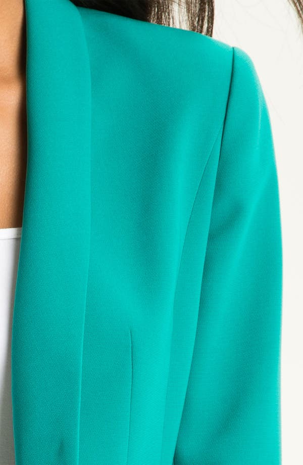 Alternate Image 3  - Halogen® Open Shawl Collar Jacket