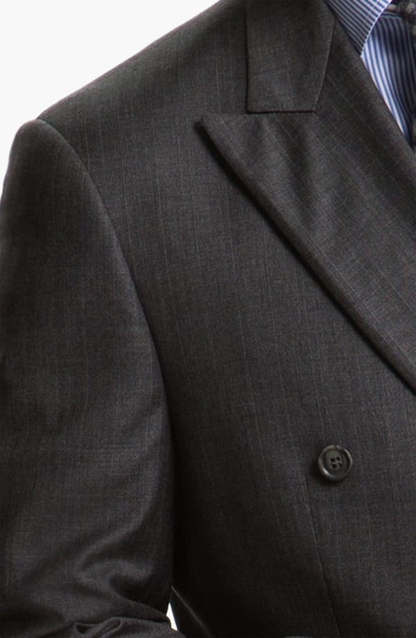 Alternate Image 6  - Joseph Abboud 'Profile' Double Breasted Wool Suit