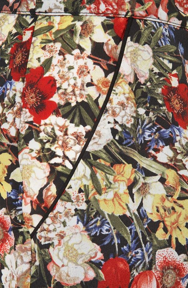 Alternate Image 3  - Topshop Floral Print Crop Cigarette Pants