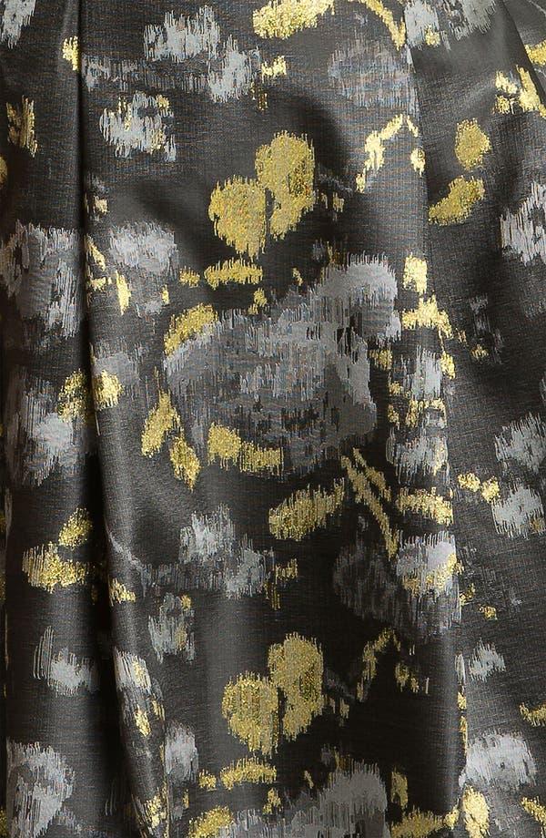 Alternate Image 3  - Eliza J Cap Sleeve Jacquard Fit & Flare Dress