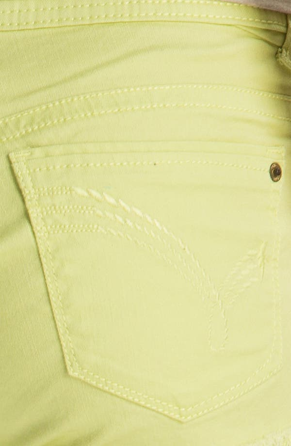 Alternate Image 3  - Jolt Cuffed Shorts (Juniors)