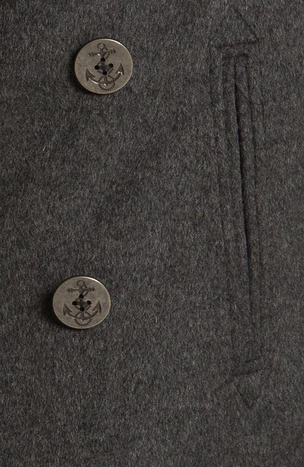 Alternate Image 3  - 1901 Wool Blend Peacoat