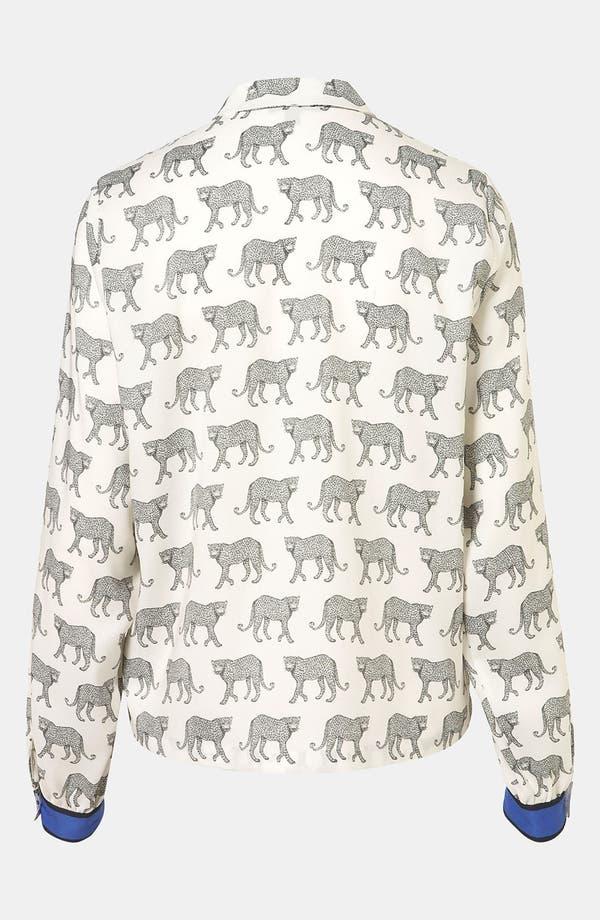Alternate Image 2  - Topshop 'Cheetah' Shirt