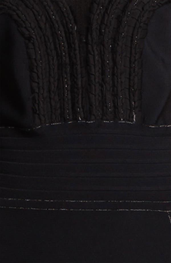 Alternate Image 3  - Cut25 Chiffon Appliqué Techno Knit Dress