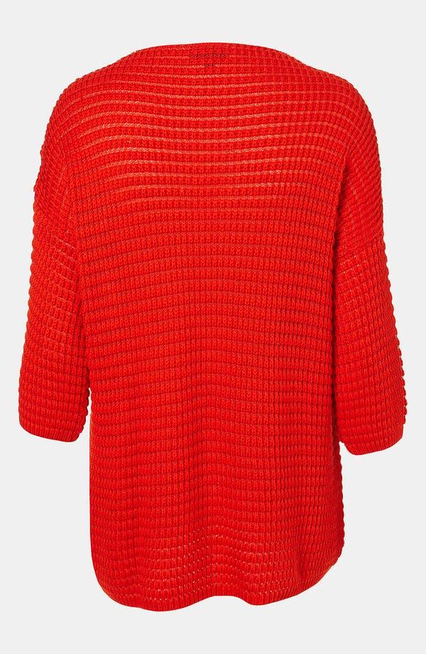 Alternate Image 2  - Topshop Textured Knit Sweater