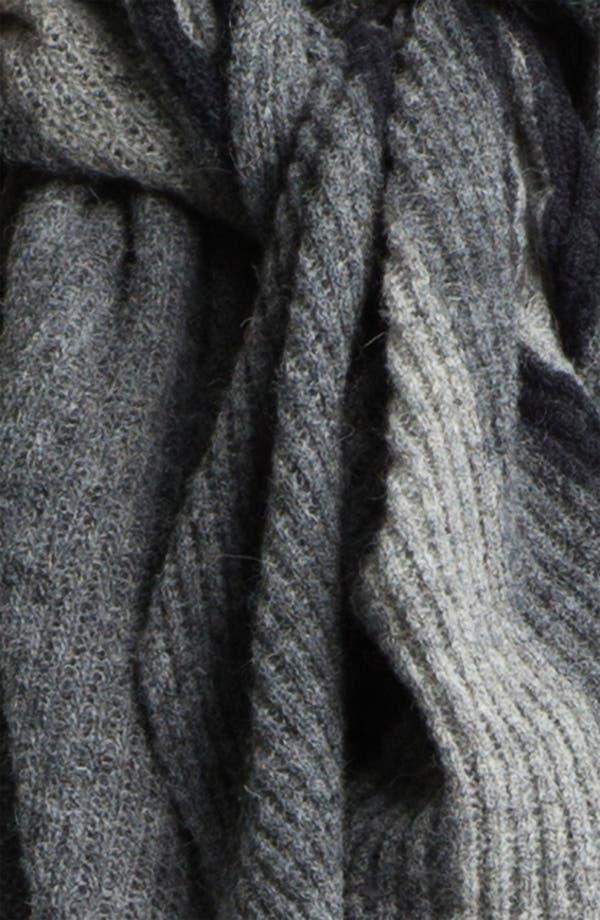 Alternate Image 2  - Eileen Fisher Ombré Knit Scarf