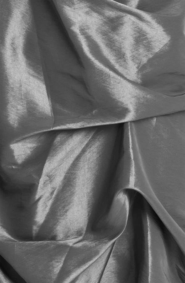Alternate Image 3  - Dalia MacPhee Strapless Ruched Taffeta Mermaid Gown